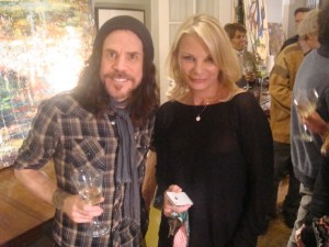 Suzanne with Tony Harnell
